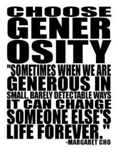"""""""Generosity - Win Win"""""""